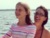 Me with my youngest, Erin, boating on the Bay 2014